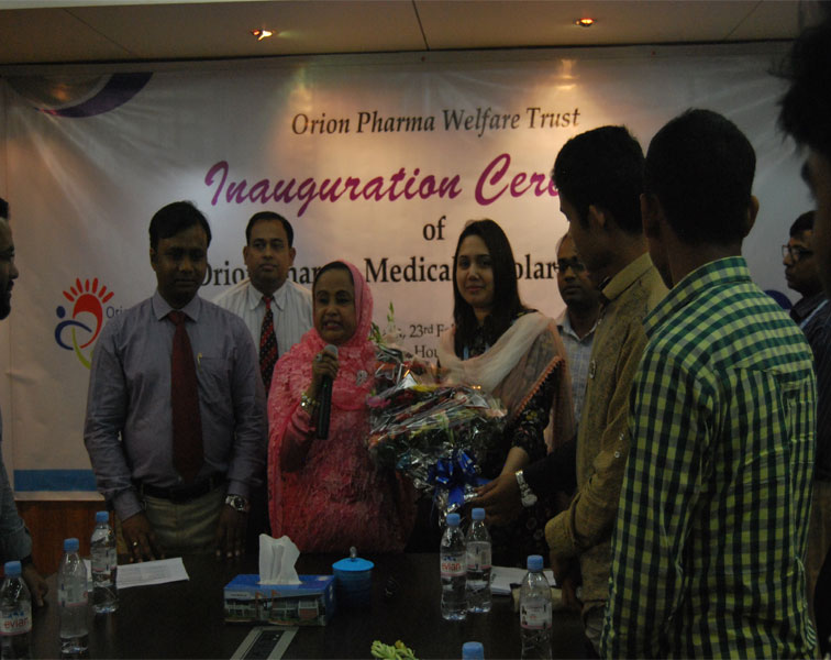 Enaguration Ceremony of Orion Medical Scholarship-2017